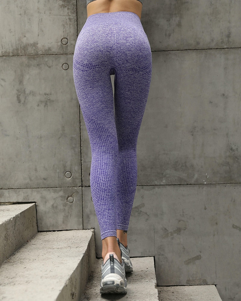 High Waist Energy Seamless Yoga Leggings