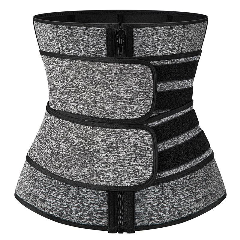 Waist Trainer - Double Compression Straps Body Shaper