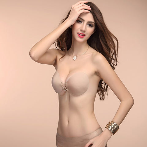 *NEW* Strapless Drawstring Bra Shaper 2
