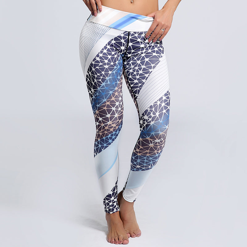 Printed Sports Leggings (up to 3XL)