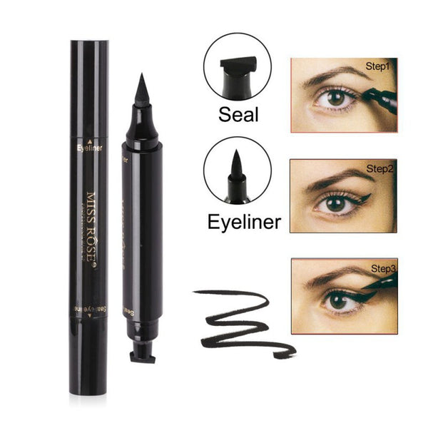 Waterproof 2 in 1 Eyeliner Stamp - Save 60% OFF Today