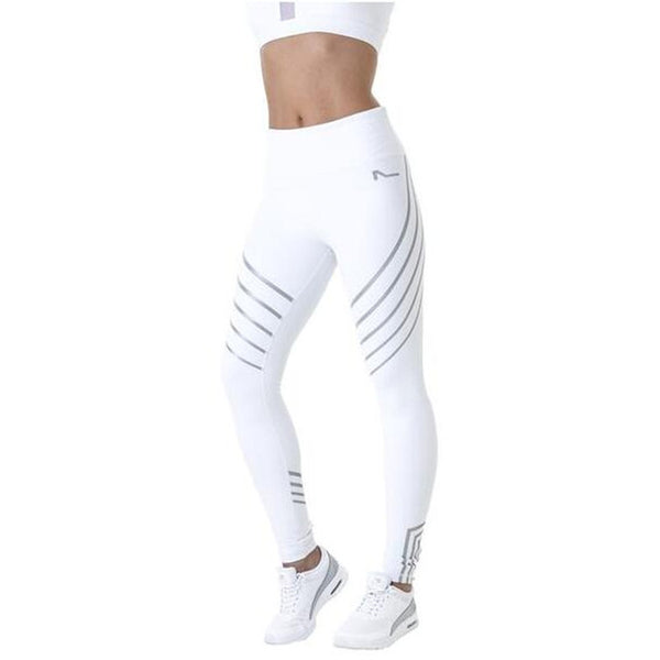 New 2017 Stripped Fitness High Waist Leggings