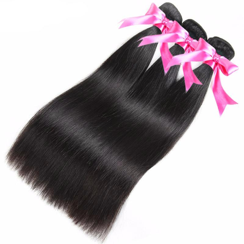 Malaysian Virgin Straight Hair Weaves