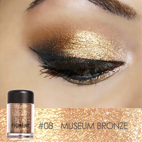 Loose Powder Glitter Eye Shadow (18 Colors)