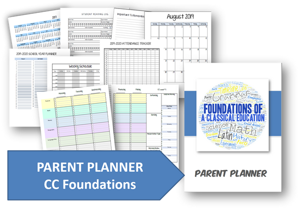 2019-2020 Parent Planner - Foundations Cycle 2 Planner