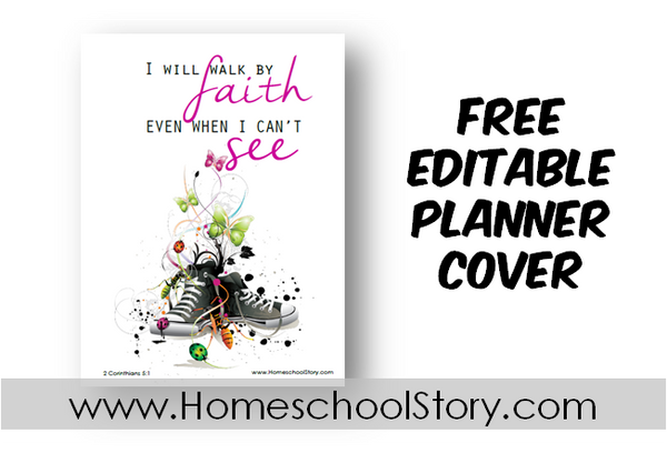 "Student Planner Cover EDITABLE ""Converse""  (FREE DOWNLOAD)"