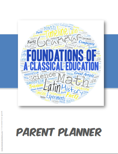 2020-2021 Parent Planner - Foundations Cycle 3 Planner (INSTANT DOWNLOAD)