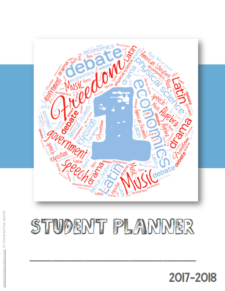 Student Planner Cover - CHALLENGE LEVELS-  (FREE DOWNLOAD)