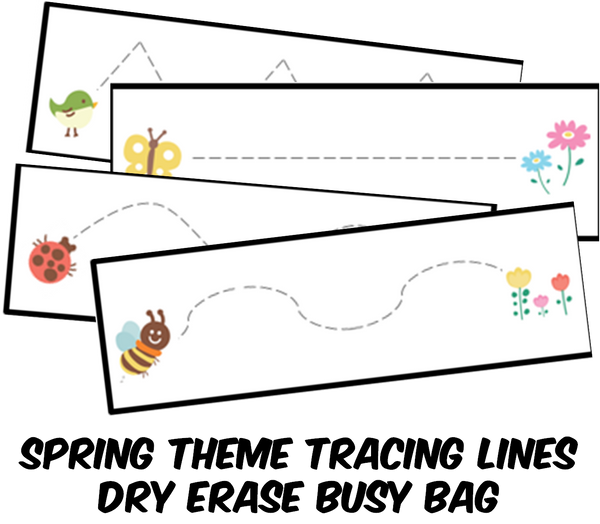Preschool Tracing Activity PDF (INSTANT DOWNLOAD)
