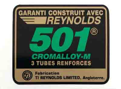 Reynolds 501 AP82-89 French