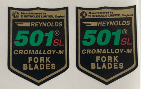 Reynolds 501 SL82-89 Pair-H Lloyd Cycles