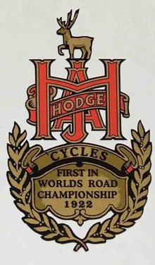 A J HODGE cycles head/seat-H Lloyd Cycles