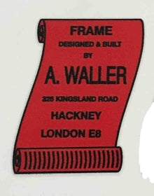 A Waller Frame Detail-H Lloyd Cycles