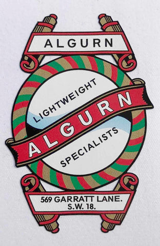 Algurn Head/Seat Crest-H Lloyd Cycles