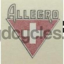 ALLEGRO seat tube decal.-H Lloyd Cycles