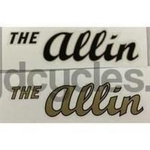 ALLIN Downtube decal.-H Lloyd Cycles