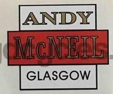Andy McNeil Head/Seat Decal-H Lloyd Cycles