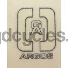 ARGOS Head/seat decal.-H Lloyd Cycles