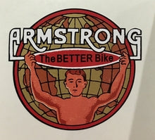 ARMSTRONG head/seat crest.-H Lloyd Cycles