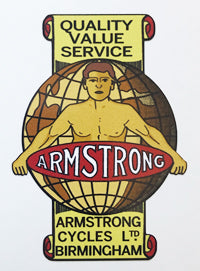 Armstrong Quality Decal-H Lloyd Cycles