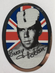 Barry Hoban Head Decal-H Lloyd Cycles