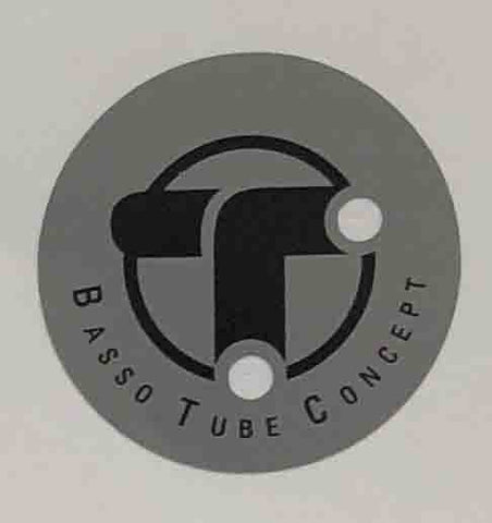 "BASSO ""Tube concept"" circular sticker.-H Lloyd Cycles"