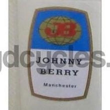 BERRY - Johnny Berry, Manchester. Seat tube decal.-H Lloyd Cycles