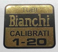 Bianchi Tubi 1-20 Decal-H Lloyd Cycles