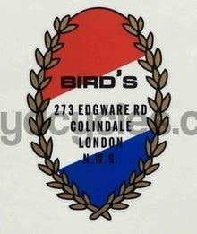 Bird's of Colindale Crest-H Lloyd Cycles