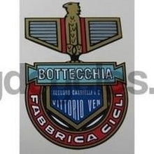 BOTTECCHIA head/seat crest.-H Lloyd Cycles