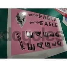 BRITISH EAGLE decal set for 1980's frames.-H Lloyd Cycles