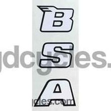BSA modern seat tube decal.-H Lloyd Cycles