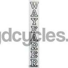 "BSA ""WAYFARER"" seat tube decal.-H Lloyd Cycles"