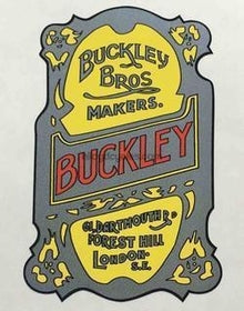 Buckley Head/seat decal-H Lloyd Cycles