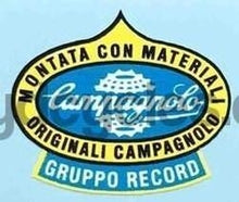 "CAMPAGNOLO ""Gruppo Record"" transfer-H Lloyd Cycles"