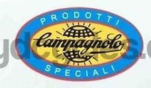 "CAMPAGNOLO oval with ""prodotti speciali"" around outside.-H Lloyd Cycles"