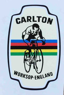CARLTON head/seat transfer-H Lloyd Cycles