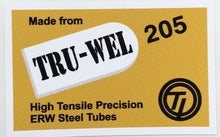 CARLTON Tru wel tubing decal-H Lloyd Cycles