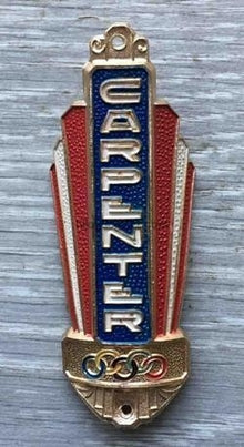 CARPENTER Metal Haed Badge-H Lloyd Cycles