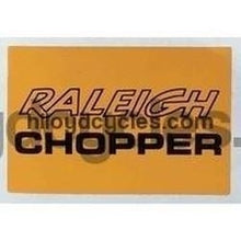 CHOPPER seat decal-H Lloyd Cycles