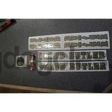CLAUD BUTLER decal set AND METAL BADGE-H Lloyd Cycles