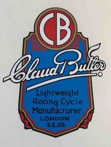CLAUD BUTLER Holdsworth seat transfer-H Lloyd Cycles