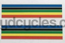 Claud Butler Olympic bands with gold separators-H Lloyd Cycles