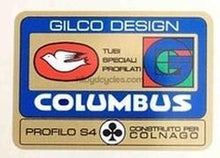 Columbus Gilco Frame Decal-H Lloyd Cycles