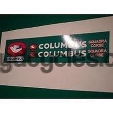 "COLUMBUS ""Squadra Corse"" decal set.-H Lloyd Cycles"