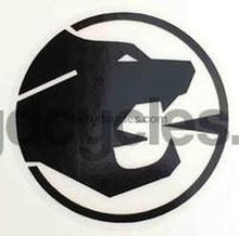 COUGAR head decal. Spitting cats head.-H Lloyd Cycles