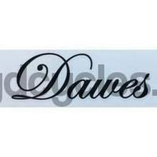 DAWES downtube decal.-H Lloyd Cycles