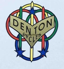 DENTON head/seat crest.-H Lloyd Cycles