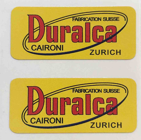 DURALCA rim decals.-H Lloyd Cycles