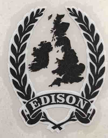 Edison Head Decal-H Lloyd Cycles